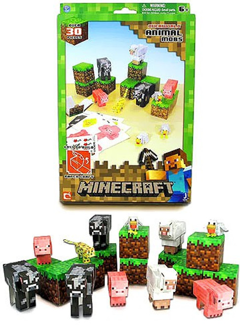 Minecraft Animal Mobs Papercraft