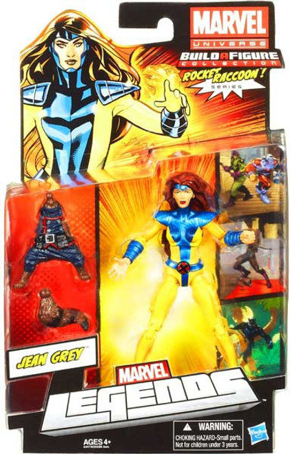 Marvel Legends 2013 Rocket Raccoon Series 2 Jean Grey Action Figure