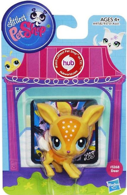 Littlest Pet Shop Sweetest Deer Figure #3268