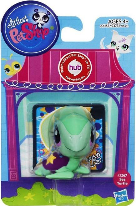 Littlest Pet Shop Sea Turtle Figure #3267