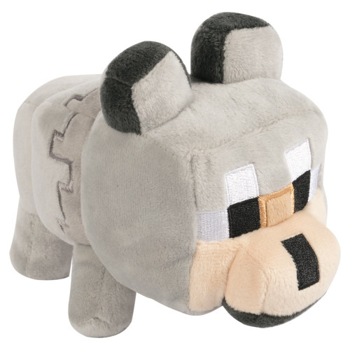 Minecraft Happy Explorer Untamed Wolf 5.5-Inch Plush