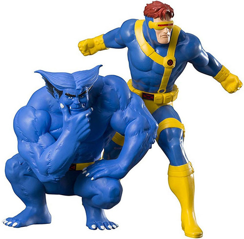Marvel X-Men '92 ArtFX+ Cyclops & Beast Statue 2-Pack