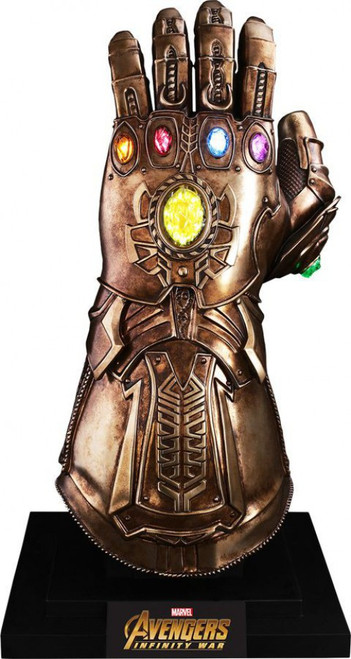 Marvel Avengers Infinity War Infinity Gauntlet Light-Up Replica