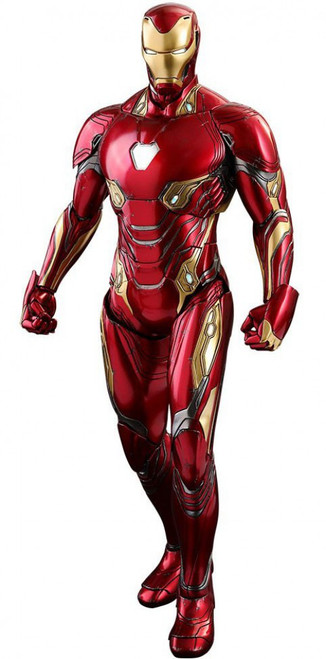 Marvel Avengers Infinity War Movie Masterpiece Diecast Iron Man Mark 50 Collectible Figure