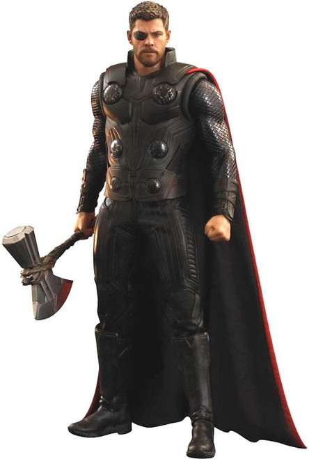 Marvel Avengers Infinity War Movie Masterpiece Thor Collectible Figure [Infinity War]