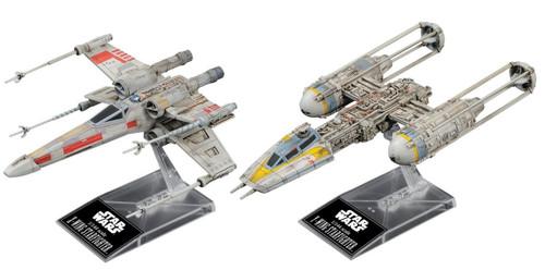 Star Wars X-Wing & Y-Wing Plastic Model Kit [Standard Edition]