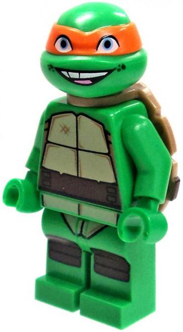 LEGO Teenage Mutant Ninja Turtles Michelangelo Minifigure [Loose]