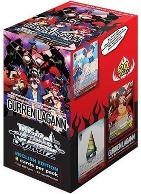 Weiss Schwarz Gurren Lagann Booster Box [20 Packs]