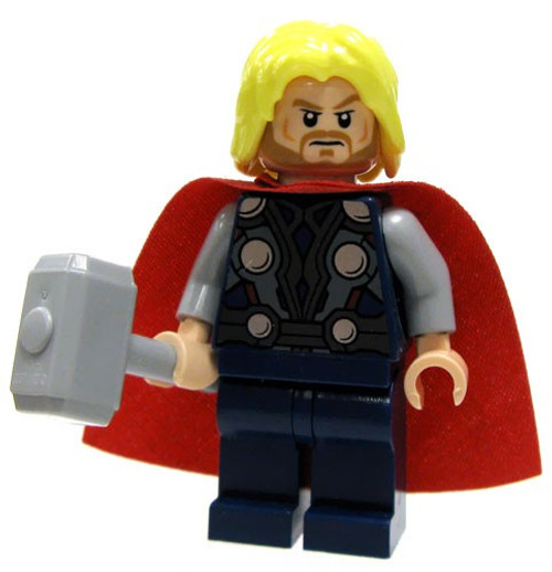 LEGO Marvel Super Heroes Thor Minifigure [Beard Loose]