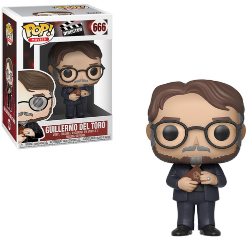 Funko The Shape Of Water POP! Directors Guillermo del Toro Vinyl Figure
