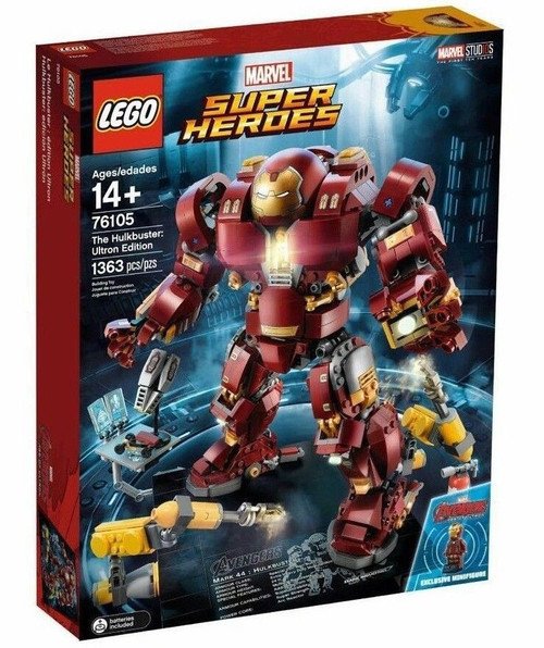 LEGO Marvel Super Heroes Avengers Infinity War The Hulkbuster: Ultron Edition Set #76105