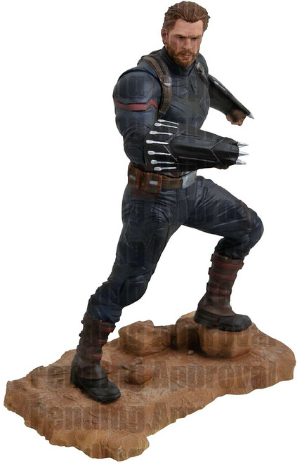 Avengers Infinity War Marvel Gallery Captain America 9-Inch Collectible PVC Statue