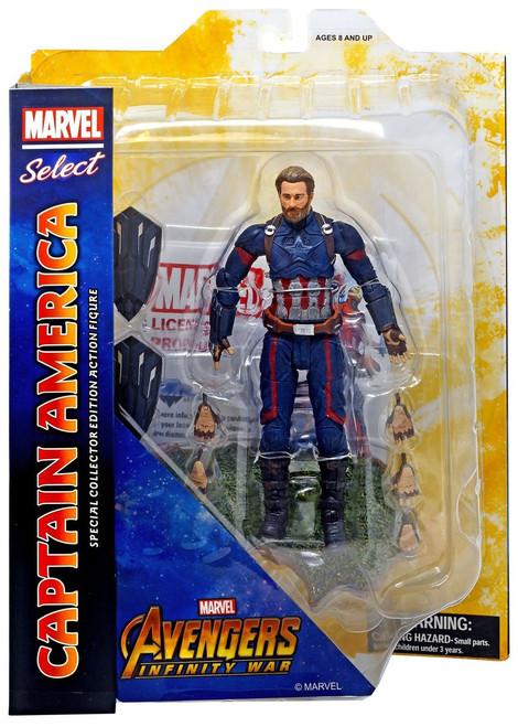 Avengers Infinity War Marvel Select Captain America Action Figure [Infinity War]