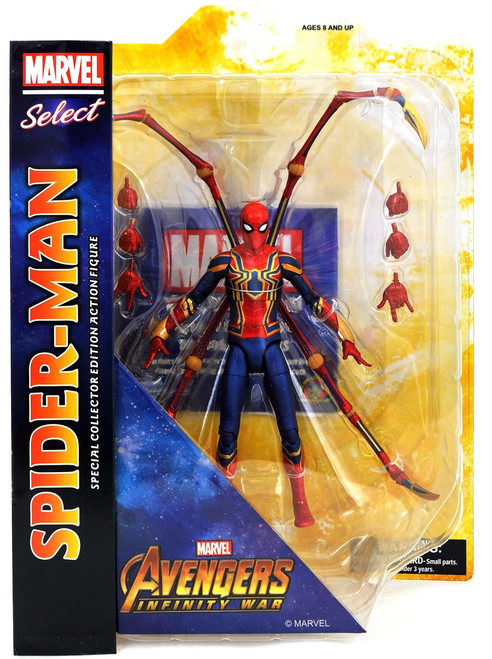 Avengers Infinity War Marvel Select Iron Spider-Man Action Figure