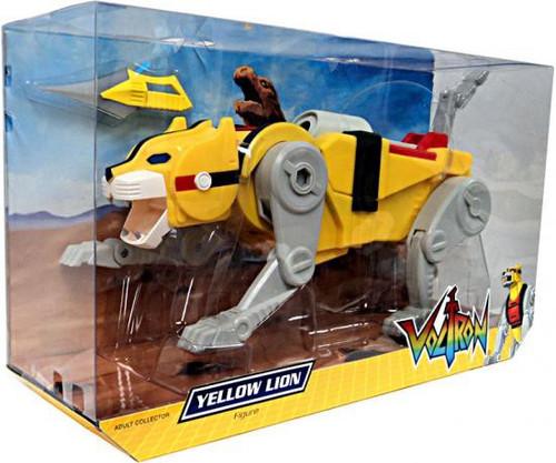 Voltron Club Lion Force Yellow Lion Exclusive Action Figure
