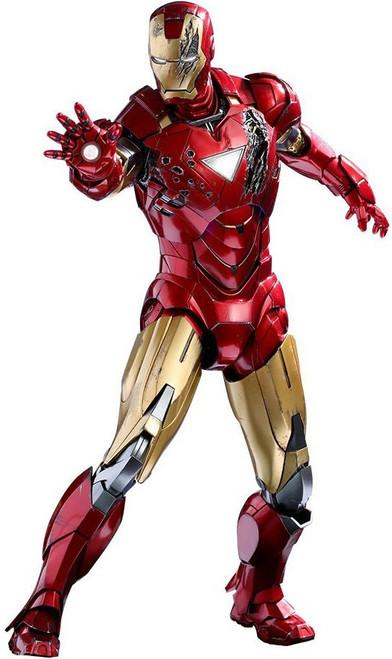 Marvel The Avengers Movie Masterpiece Diecast Iron Man Mark VI Collectible Figure