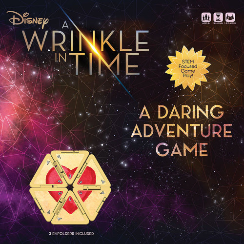 A Wrinkle In Time: A Daring Adventure Game Board Game