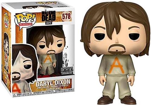 Funko The Walking Dead POP! TV Daryl Dixon Exclusive Vinyl Figure [Prison Suit]