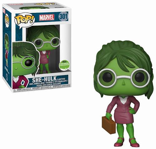 Funko POP! Marvel She-Hulk Exclusive Vinyl Bobble Head [Lawyer]