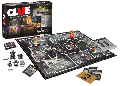 Five Nights At Freddy's Clue Board Game