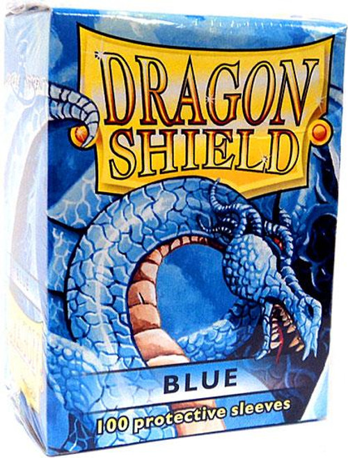Card Supplies Dragon Shield Blue Standard Card Sleeves [100 Count]