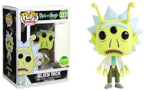 Funko Rick & Morty POP! Animation Alien Rick Exclusive Vinyl Figure #337