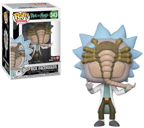 Funko Rick & Morty POP! Animation Rick Exclusive Vinyl Figure #343 [Facehugger]