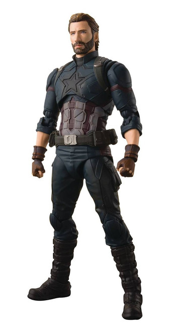 Marvel Avengers Infinity War S.H. Figuarts Captain America Action Figure [Tamashii Effect Explosion]