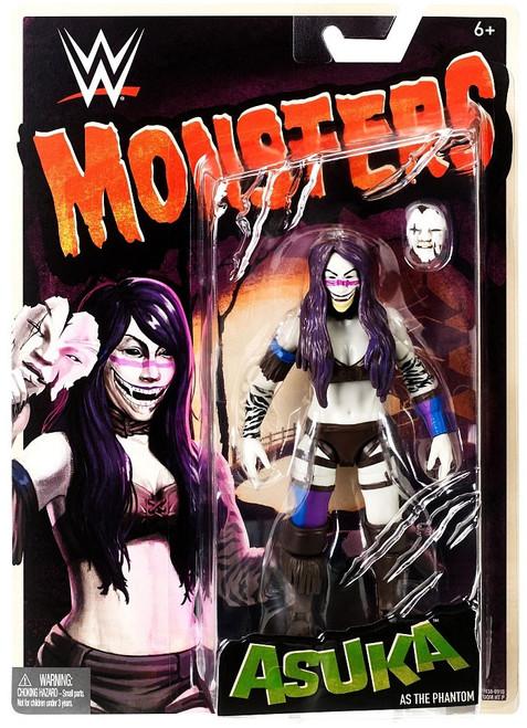 WWE Wrestling Monsters Asuka as The Phantom Action Figure