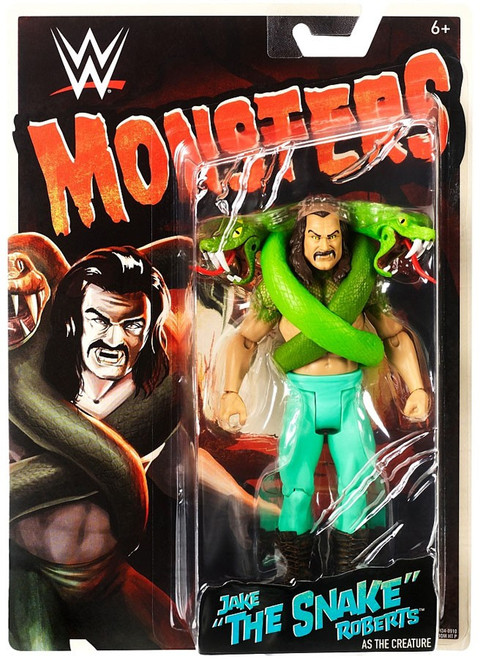 """WWE Wrestling Monsters Jake """"The Snake"""" Roberts as The Creature Action Figure"""