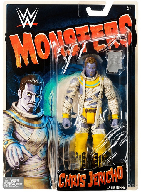 WWE Wrestling Monsters Chris Jericho as The Mummy Action Figure