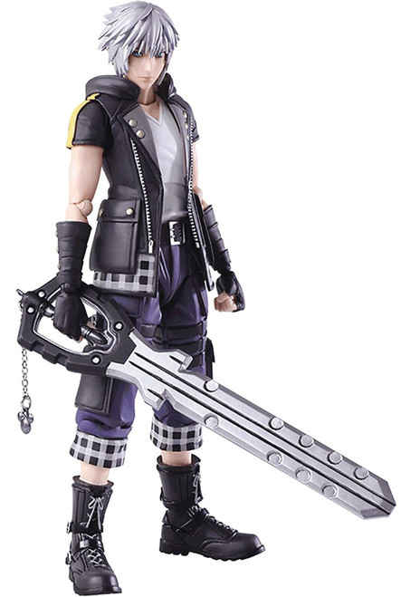 Disney Kingdom Hearts III Bring Arts Riku Action Figure