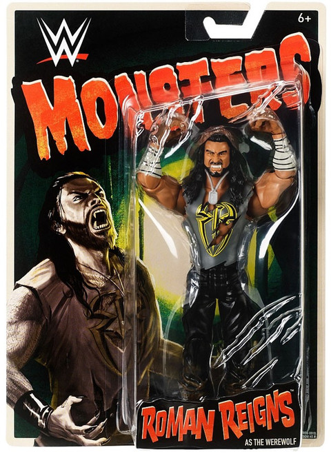 WWE Wrestling Monsters Roman Reigns as The Werewolf Action Figure