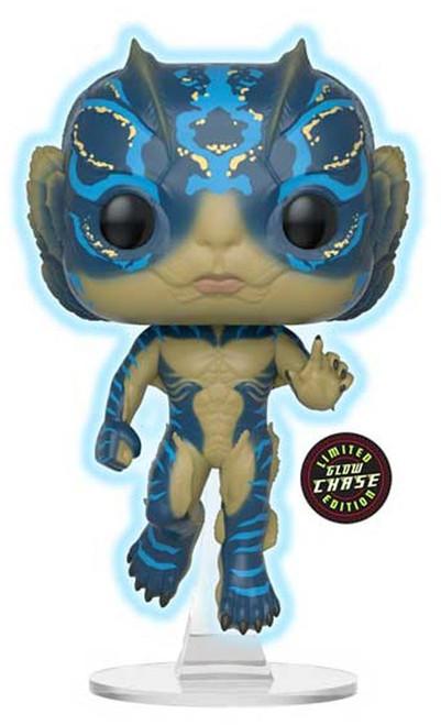 Funko The Shape Of Water POP! Movies Amphibian Man Vinyl Figure [Glow in the Dark, Chase Version]