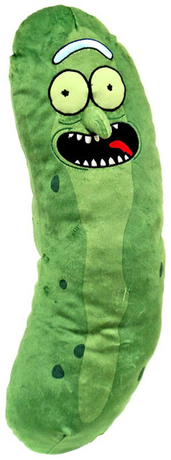 Rick & Morty Pickle Rick 22-Inch Plush Pillow