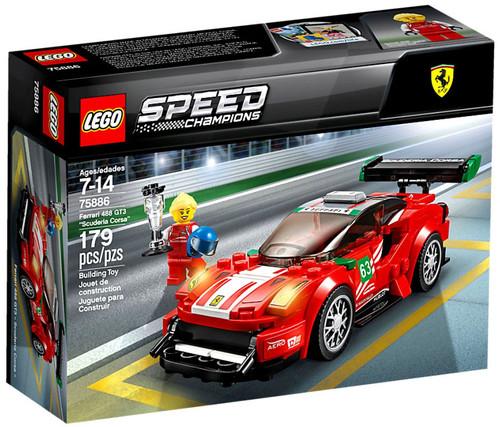 "LEGO Speed Champions Ferrari 488 GT3 ""Scuderia Corsa"" Set #75886"