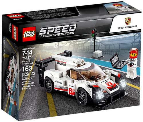 LEGO Speed Champions Porsche 919 Hybrid Set #75887