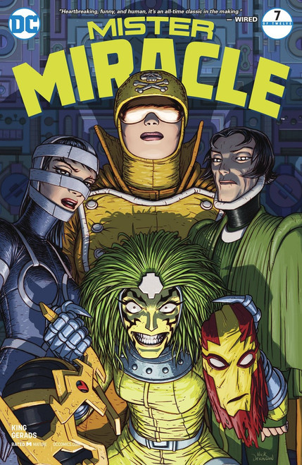DC Mister Miracle #7 Comic Book