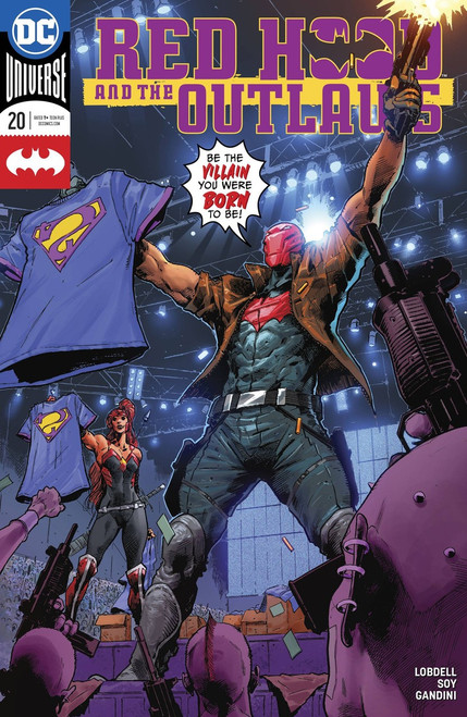 DC Red Hood and The Outlaws #20 Comic Book