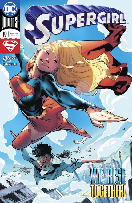 DC Supergirl #19 Comic Book