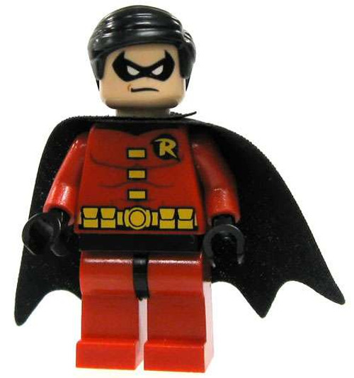 LEGO Batman Robin Minifigure [Red Tights & Black Cape Loose]
