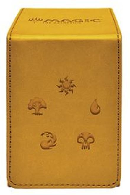 Ultra Pro MtG Trading Card Game Alcove Gold For Magic Flip Box