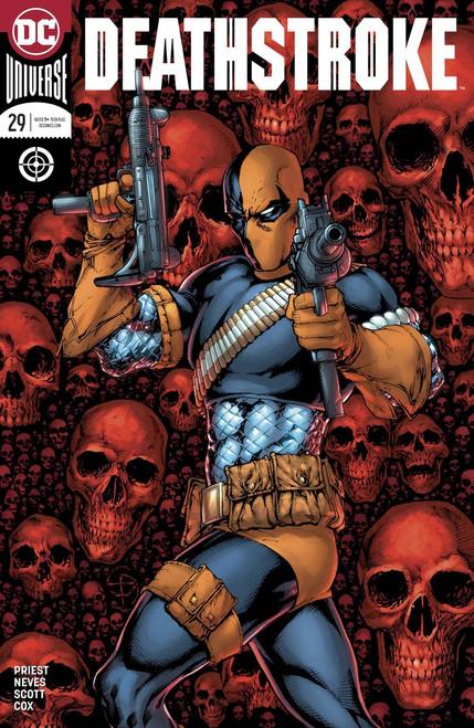 DC Deathstroke #29 Comic Book [Davis & Delecki Variant Cover]