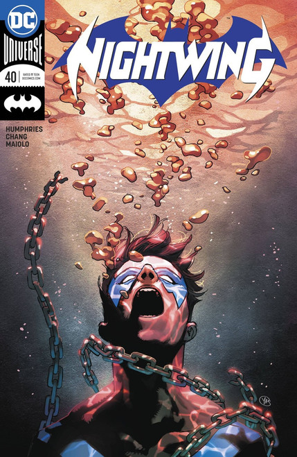 DC Nightwing #40 Comic Book [Putri Variant Cover]