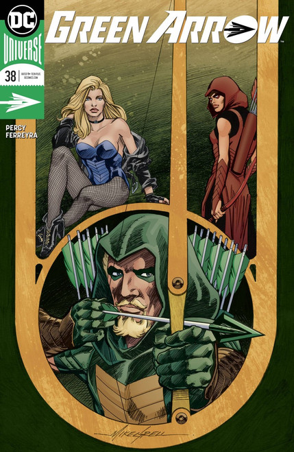 DC Green Arrow #38 Comic Book [Grell Variant Cover]