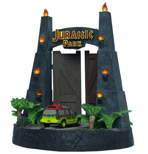 Jurassic Park Gates Environment 11-Inch Sculpture