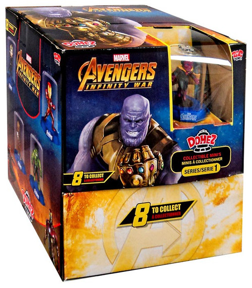 Marvel Domez Avengers Infinity War Mystery Box [24 Packs]