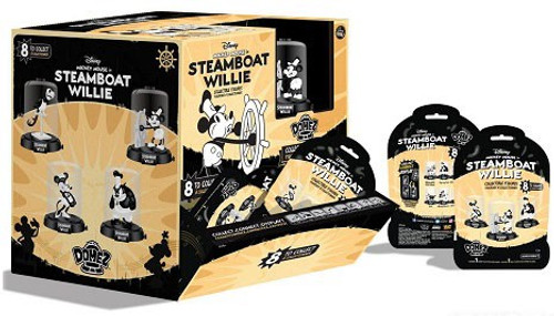 Disney Domez Steamboat Willie Mystery Box [24 Packs]