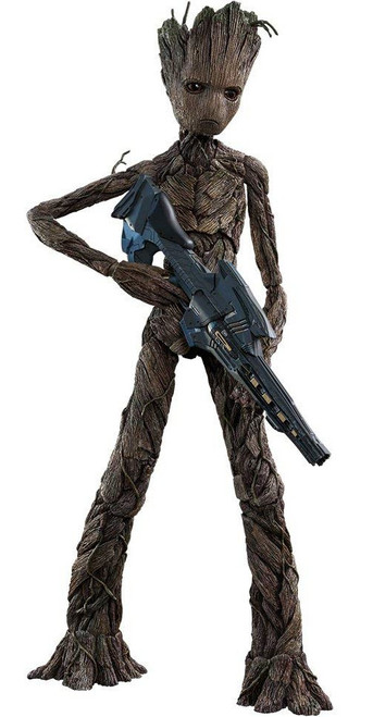 Marvel Avengers Infinity War Movie Masterpiece Groot Collectible Figure MMS475 [Infinity War]