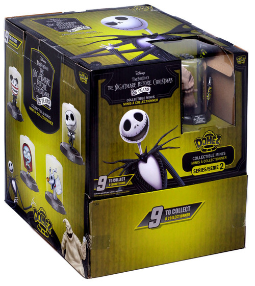 Disney Domez Series 2 Nightmare Before Christmas Mystery Box [24 packs]